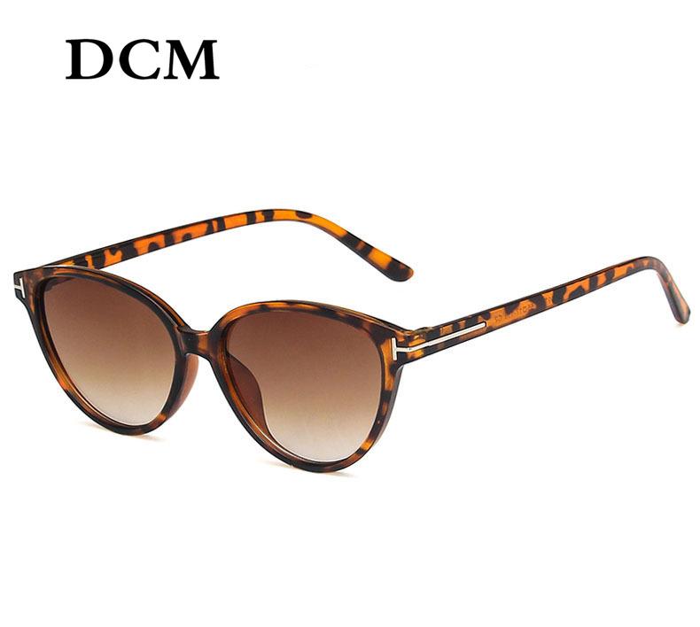 DCM Cateye Sunglasses Women Sexy Retro Small Cat Eye Sun Glasses Brand Designer Colorful Eyewear For Female Oculos De Sol