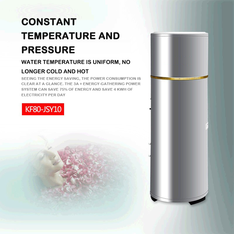 Split Air Energy Water Heater Household Air Source Heat Pump 150/200 Liter Microcomputer Type 1p / 1.5p Air Energy Water Heater