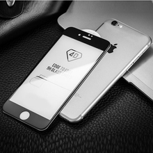 4D Full Coverage Cover Tempered Glass For iPhone 7 8 6s Plus Screen Protector Protective Film XS Max screen protector