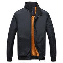 Brand Men's Jacket Autumn Winter Fashion Warm Cotton Coat Quality Casual Thicken