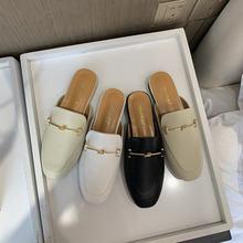 Женские шлепанцы без задника; летняя обувь для улицы; calzado