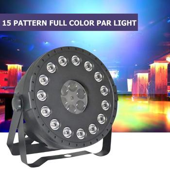 LED Stage Lamp Moving Head DMX Lighting Projetcor for Xmas Disco Bar Party Voice Control Radio Frequency Remote Control
