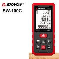 SNDWAY 50M 70M 100M 120M Laser rangefinder Digital Laser distance meter Laser rangefinder Tape distance measurer Ruler Bluetooth