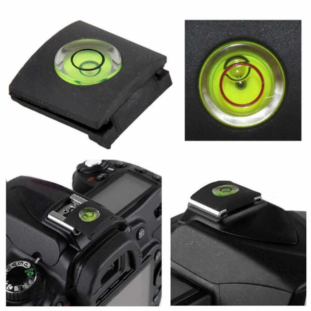 Chuyên Nghiệp Hotshoe Máy Ảnh Cấp Độ Bảo Vệ Phụ Kiện Máy Ảnh Bong Bóng Tinh Thần Nắp Cho Canon Nikon Cho Pentax