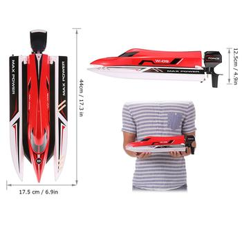 WLtoys WL915 RC Boat 2.4Ghz 2CH 45km/h Brushless High Speed Racing Boat Model Speedboat Kids Gifts RC Toys 2