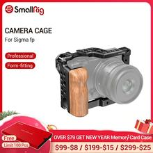 Smallrigケージ木製ハンドグリップシグマfpミリメートルロッドブロックリグとコールドシューマウントビデオ撮影ケージキット 2518