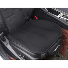 1 pc carro de pelúcia quente assento almofada capa de assento tapete para fiat linea