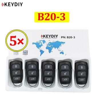 5 adet/grup KEYDIY B serisi B20-3 3 düğme evrensel KD uzaktan kumanda için KD200 KD900 KD900 + URG200 KD-X2 mini KD KIA tarzı