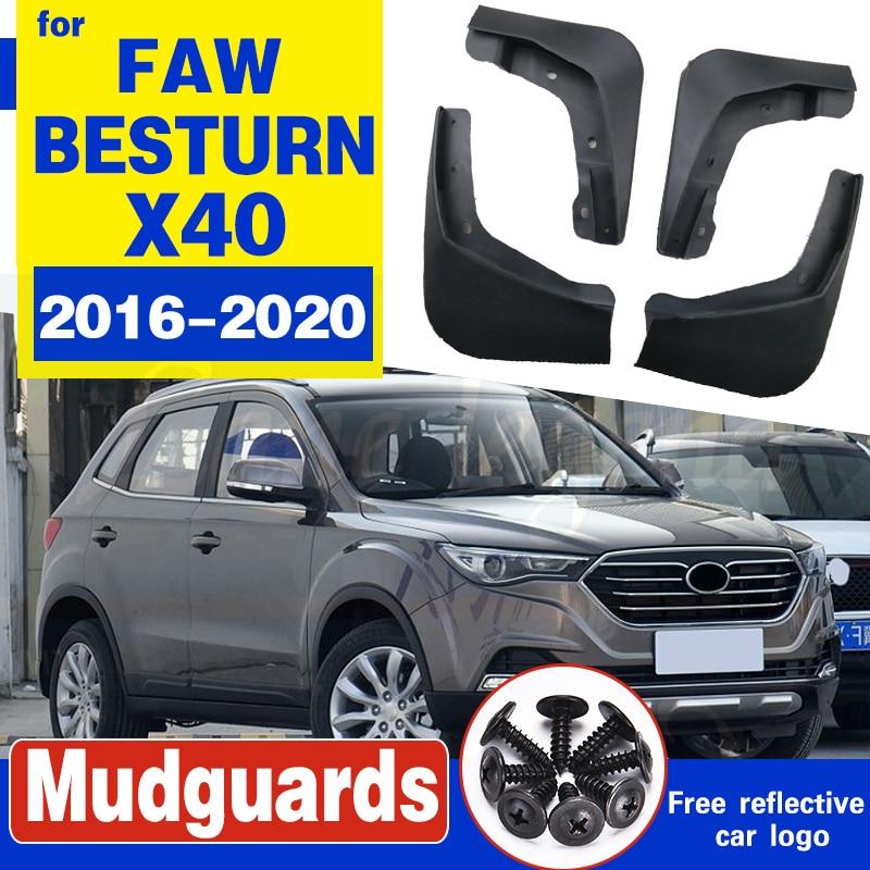 4 шт., брызговики для FAW BESTURN X40 2016 2017 2018 2019 2020, брызговики, передние и задние