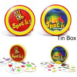spot board game English version kids education toys for family party enjoy it cards game