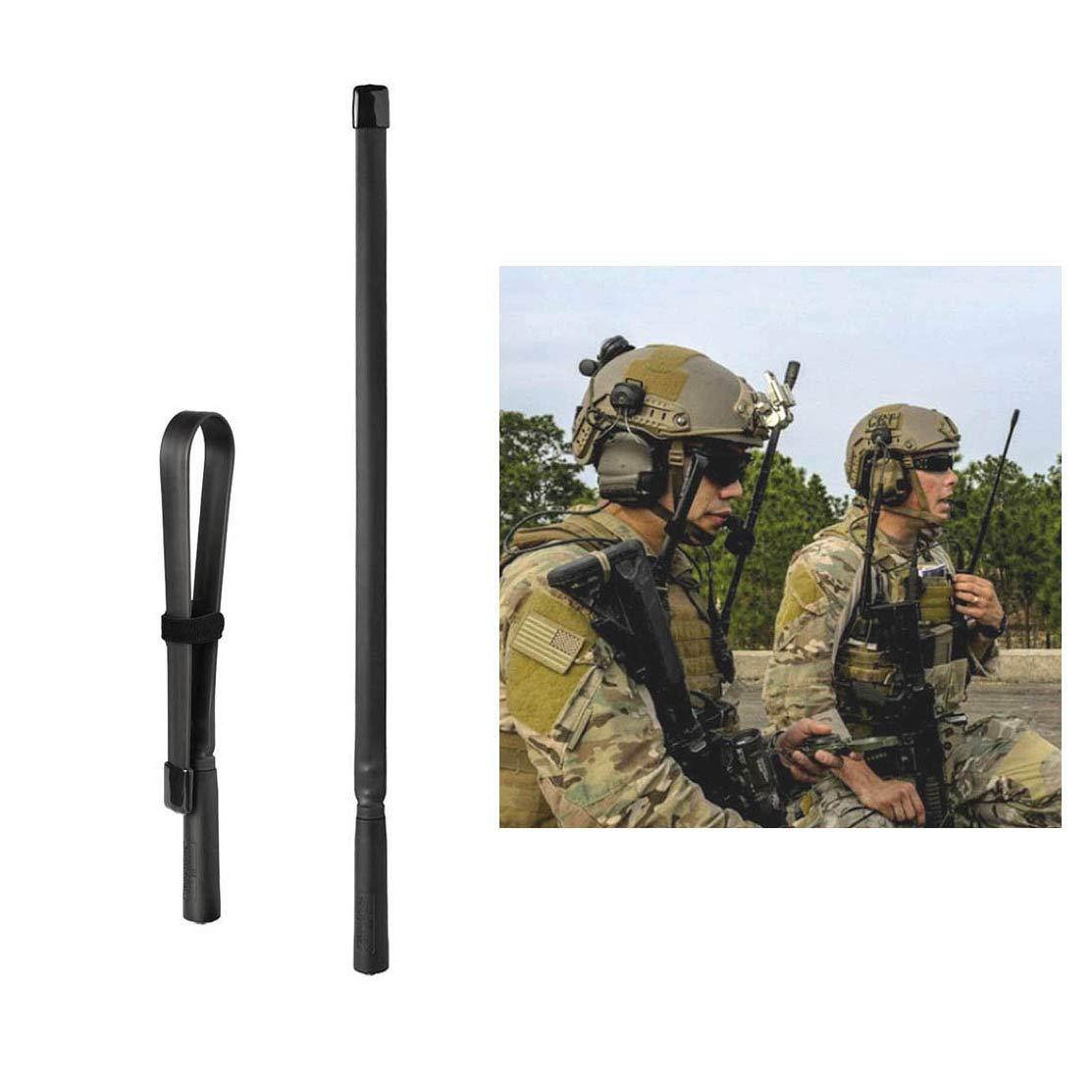 Folding CS Tactical Antenna Dual Band Foldable SMA-F for Baofeng Uv-5R Uv-5Ra Uv-5Rc Uv-5Re Uv-82 BF-F8HP UV-82HP UV-5X3 UV-9r