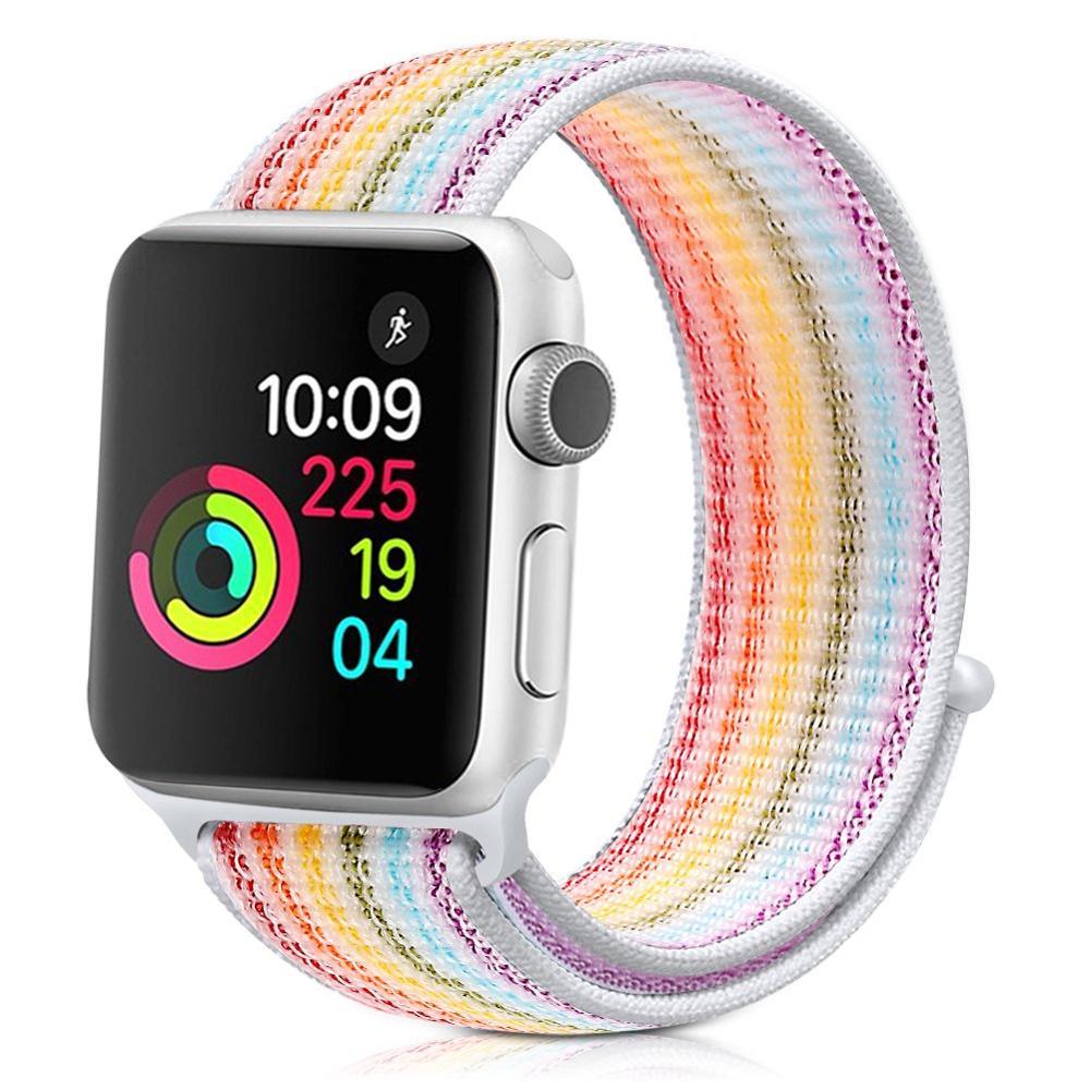 Nylon Strap For Apple Watch 5 Band 44mm 40mm Iwatch Band 42mm 38mm Sport Loop Watchband Bracelet Watch Strap Apple Watch 4 3 2 1