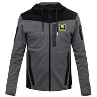 Moto gp Racing Motorcycle GP For Yamaha M1 Racing Team Paddock Grey Hoodie Sweater Jackets
