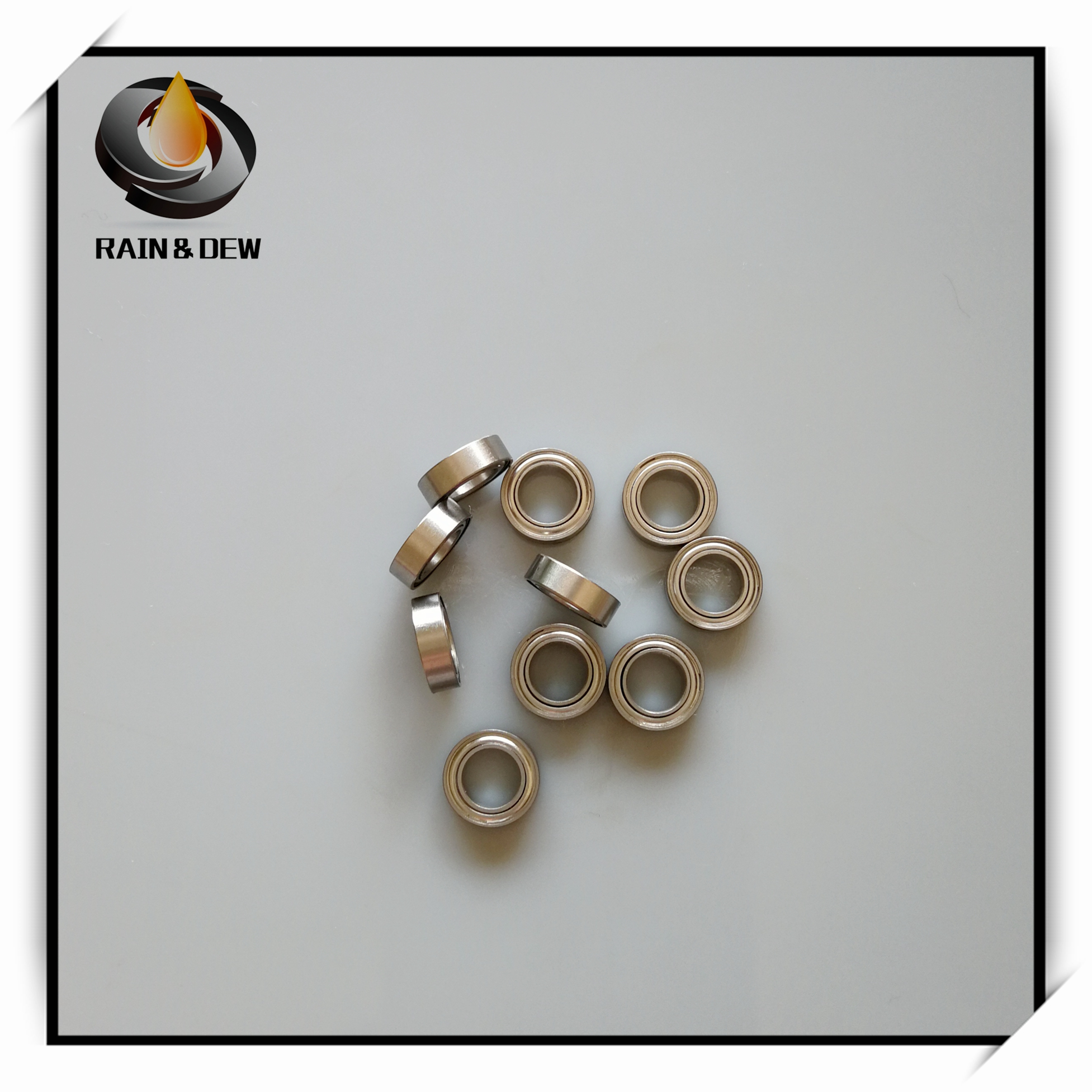 S623-2RS 2 PCS 440c Stainless Steel CERAMIC Ball Bearing 3x10x4 mm ABEC-7