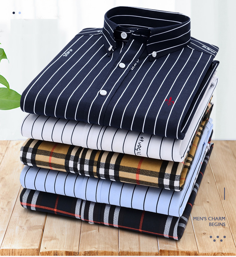 Dudalina Male 2019 Printing Embroidery Classic Business Men's Shirts Long Sleeve Turndown Collar Plus Size M-5xl Dress Shirt