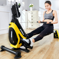 Rowing Machine Mute Abdominal Pectoral Arm Fitness Training Body Glider Rowing Indoor Home Gym Exercise Equipment