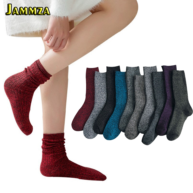 New Women Silver Wire Thick Hair Keep Warm Socks For Winter Casual Business Cotton Breathable Long Socks High Quality Girl Meias