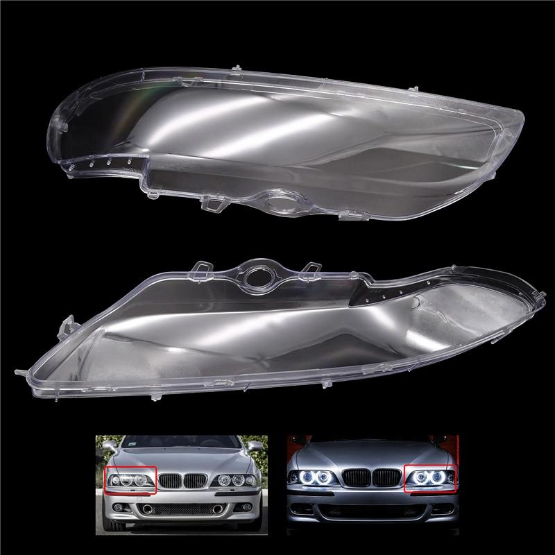 capa para farol de vidro kit com lentes para bmw 5 series e39 518 1 peca