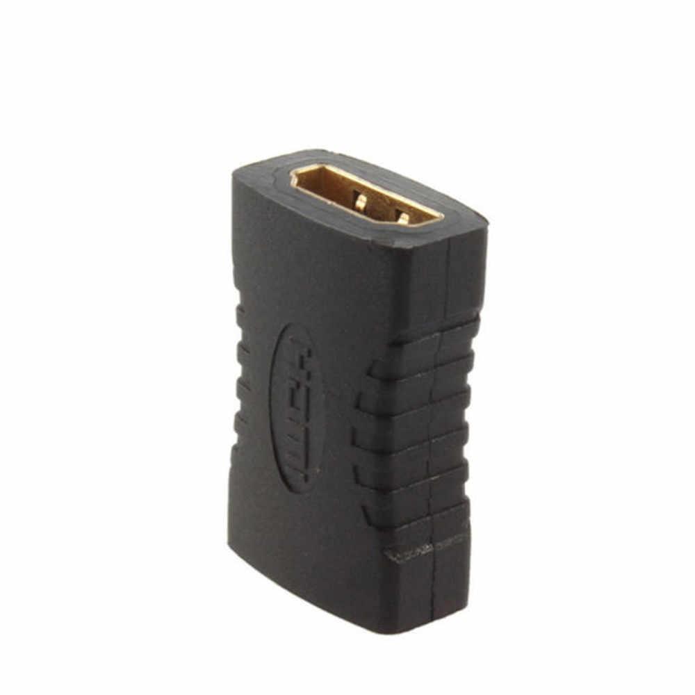 HDMI Extender Perempuan Ke Perempuan Konektor 4K HDMI 2.0 Ekstensi Converter Adaptor Coupler untuk PS4 HDMI Kabel HDMI Extender