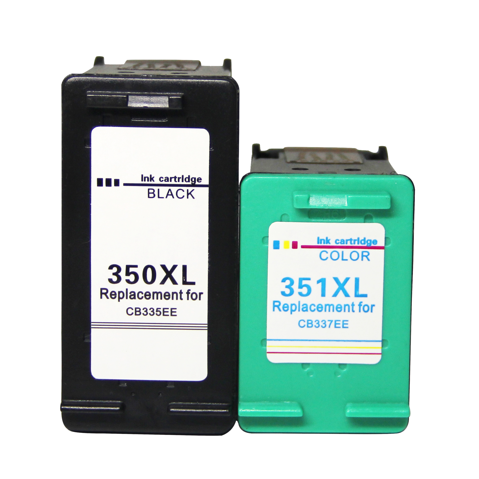 350XL 351XL Cartuchos de tinta Remanufacturado HP 350 351 para HP Deskjet serie D4260 Officejet J5780 J6410 HP Photosmar C4200 C4270