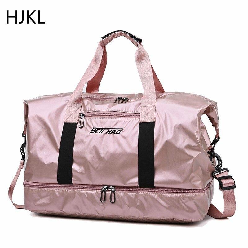 Fashion Travel Bag Large Capacity Men Hand Luggage Travel Duffle Bags Weekend Women Multifunctional Travel Bags Malas De Viagem