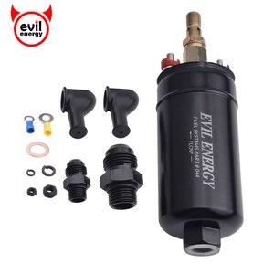 Image 1 - الشر الطاقة 380LPH ارتفاع ضغط مضمنة مضخة الوقود E85 متوافق مضخة الوقود العالمي استبدال