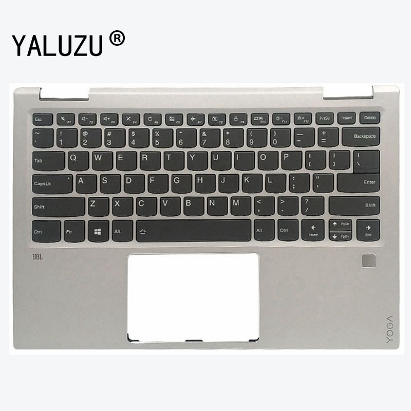 YALUZU nouveau clavier d'ordinateur portable pour LENOVO yoga 720 YOGA 720-13 IKB clavier américain repose-pied boîtier supérieur rétro-éclairage