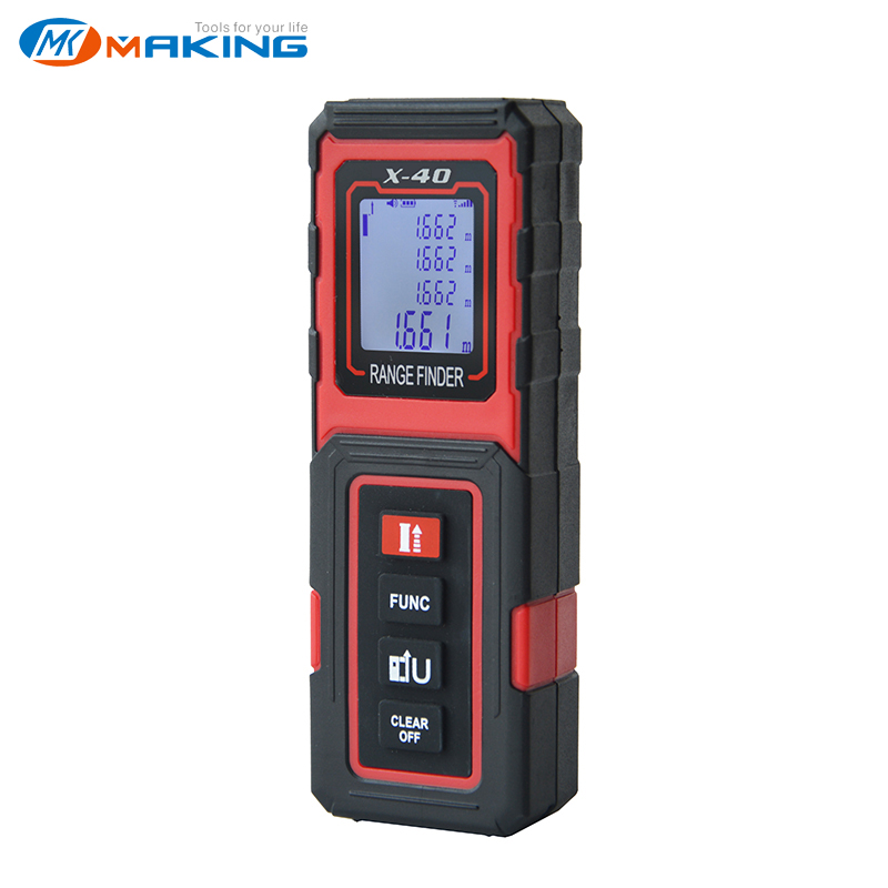 TECLASER Laser Meter Laser Rangefinder 30M 40M50M Digital Tape Measuring Device Distance Meter Digital Range Finder Tape Measure