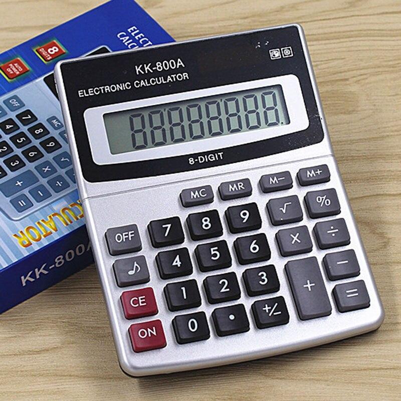 8 Digits Display Classical Mini Calculator KK-800A Office Electronic General Calculator