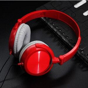 Image 4 - 新しいステレオ低音ヘッドフォンとマイクをキャンセルする低音サウンドハイファイ音楽イヤホンソニーiphone xiaomi pc