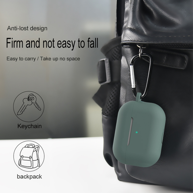 Silicone Cover Case For apple Airpods Pro Case sticker Bluetooth Case for airpod 3 For Air Pods Pro Earphone Accessories skin 5