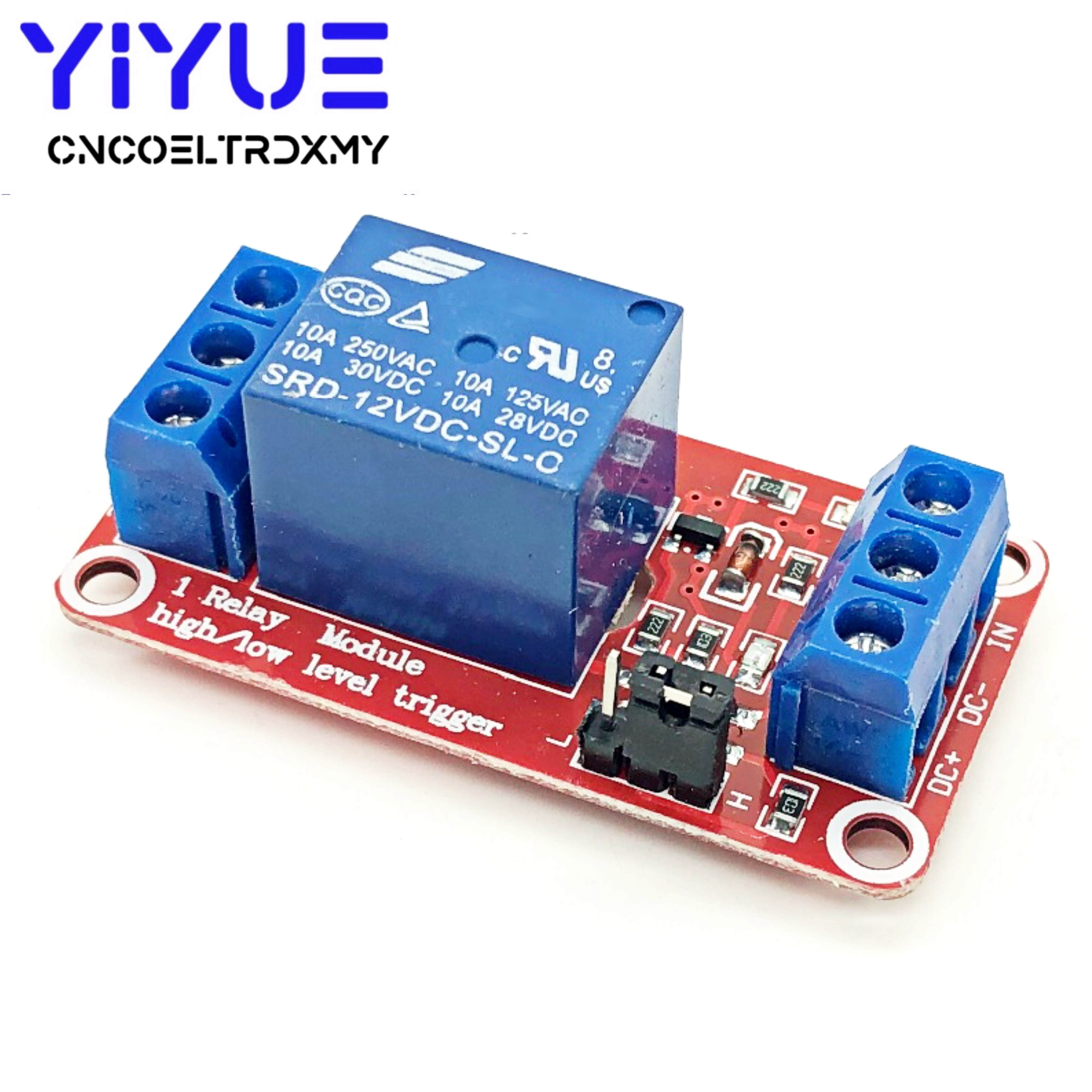 Relay Driver Module Control Board Low Level Trigger Circuit Protector DC12V