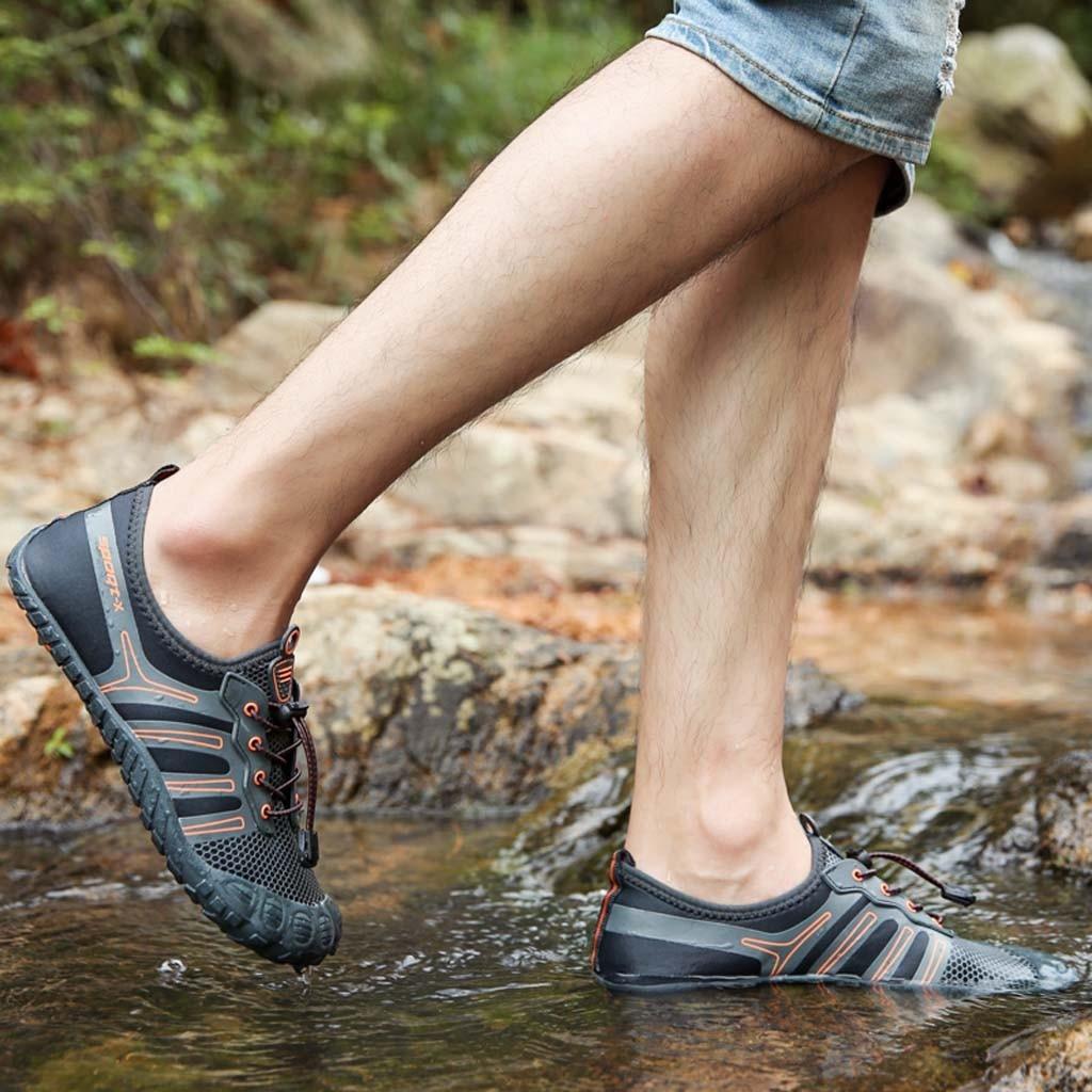 Summer Man Casual  Hiking Shoes  Pool Swimming Shoes Quick Dry  Shoes Outdoors  Aqua Shoes Hiking Shoes  кросовки мужские