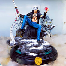 ONE PIECE Trafalgar Law Statue Trafalgar D Water Law GK Death surgeon Bust Red Heart Pirates Resin Action Figure Toy BOX 60CM H5(China)