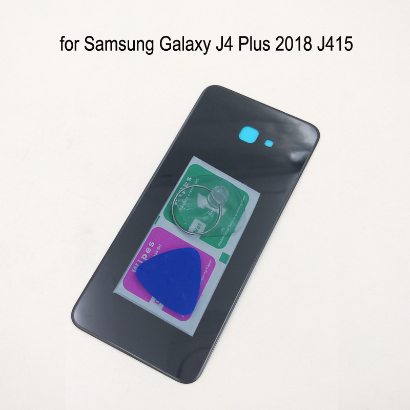 For Samsung Galaxy J4 Plus 2018 J415 J415F J415FN J415G Original Phone Housing Frame Back Cover Rear Battery Panel Door + Tools