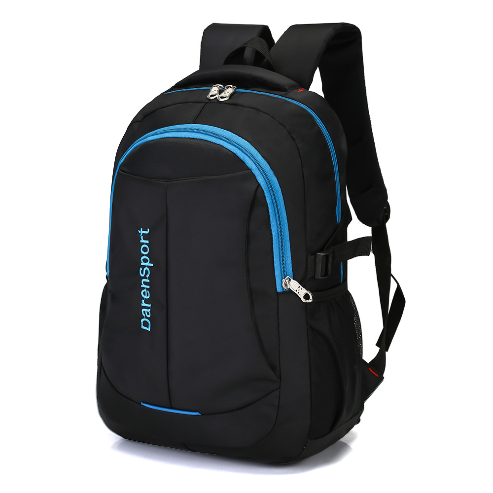 Men Travel Backpacks Male High Quality Waterproof Oxford Laptop Bag Trendy Business Backpack Casual Black Travel Bag For Male