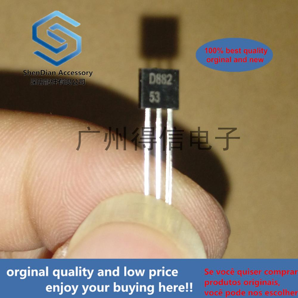 30pcs 100% Orginal New  TSD882S D882 882 TO-92 Low Vce(sat) NPN Transistor  Real Photo