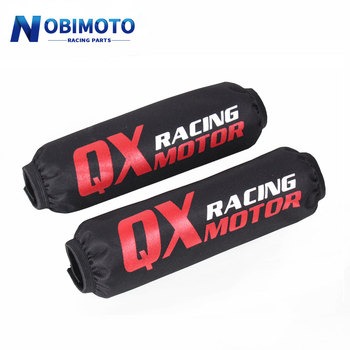 1pcs 270mm Rear Shock Absorber Suspension Protector Protection Cover For Dirt Pit Bike Motorcycle ATV Quad scooter motorcycle 350mm rear shock absorber suspension protector protection cover for dirt pit bike crf yzf ktm klx atv quad scooter