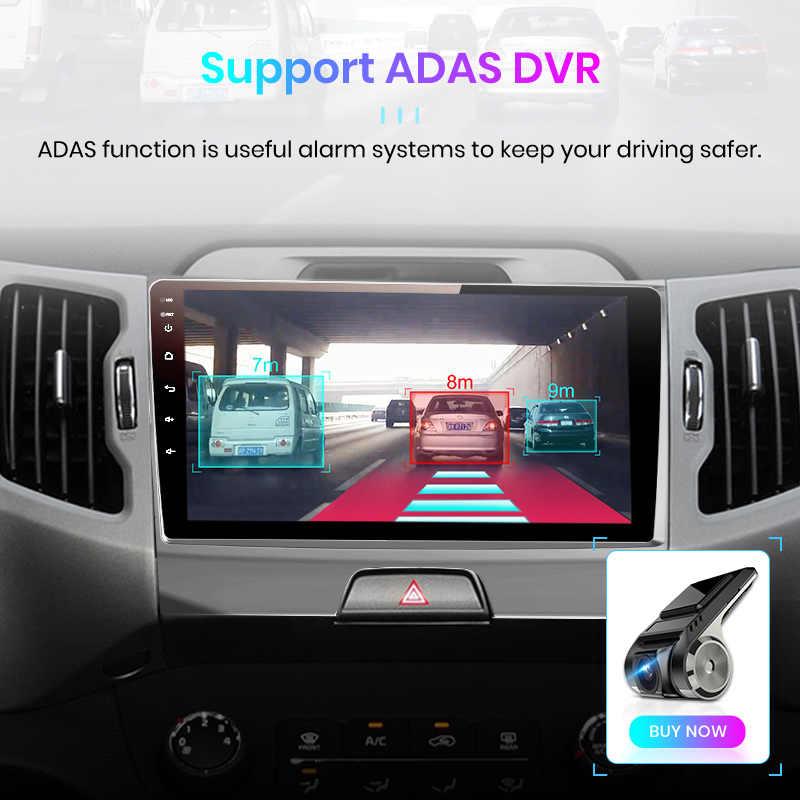 Junsun V1 2G + 32G Android 9.0 Dsp Auto Radio Multimedia Video Player Navigatie Gps 2 Din Voor kia Sportage 3 2010 2011-2016 Geen Dvd