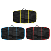Deluxe 49 inch Surf Bodyboard Cover Carry Bag with Zipper Front Pocket for Surfing Water Sports