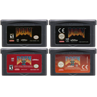 32 Bit Video Game Cartridge Console Card For Nintendo GBA Doom English Language Edition