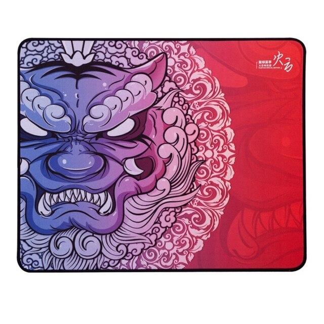 Original Esports tigre jeu LongTeng HuoYun lisse tapis de souris Flexible tapis de souris ourlet de haute qualité