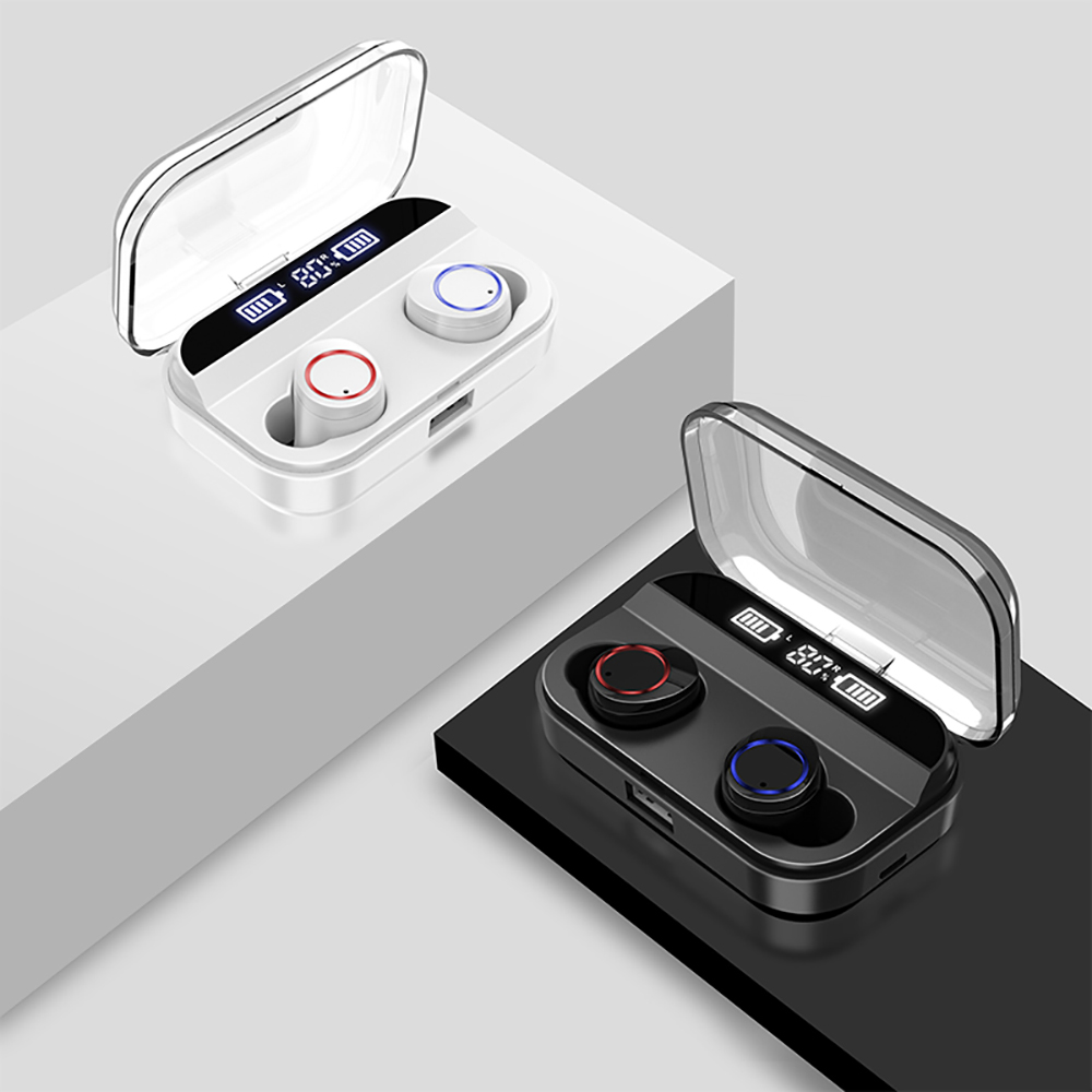 VTIN TWS Wirelress Earphones Bluetooth 5.0 Earphone With 4000mAh Charging Case IPX7 Waterproof Earbuds PK E12 TWS Xiaomi Redmi Airdots (11)