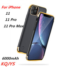 6000mAh High Quality Ultra-Thin Mobile Power Box for iPhone 11/11 Pro Portable Metal Frame Power Box for iPhone 11 Pro Max