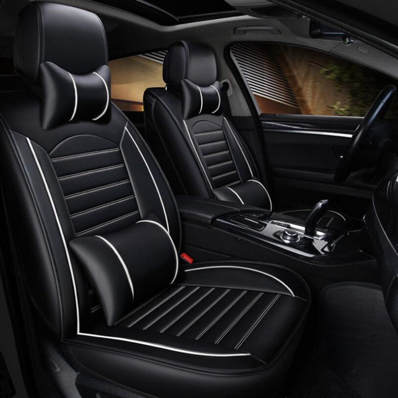 High Quality Universal PU Leather Car Seat Covers For 2010-2017 Nissan NV200 Chevrolet City Express Evalia Car Seat Cushion