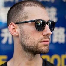 VIVIBEE 2020 Trending Small Men Square Sunglasse Vintage Bla