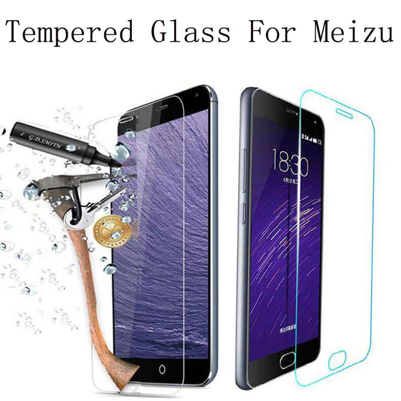 Kaca Pelindung untuk Meizu M6s M3s M5c M3 M5 M6 Catatan Pelindung Layar untuk Meizu U10 U20 Pro 7 Plus kaca Tempered