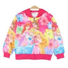 Kids Baby Cartoon Printed Jacket Clothing 2-8Y