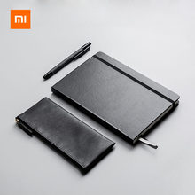 Original Xiaomi Kinbor Business Notebook Office Gift Set Pencil Bag Ballpoint Pen Multi-function Conference Set Office Supplies(China)