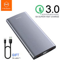 Power-Bank External-Battery Portable Charger Huawei Mcdodo Oppo-X-Oneplus VOOC Super